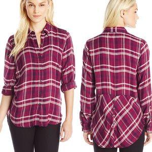 Lucky Brand 'Bungalow' Lightweight Flannel Shirt